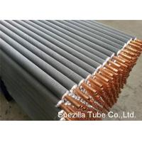 Cheap 11 FPI Extruded Fin Tube / Heat Exchanger Finned Tube 25000MM Length for sale
