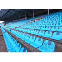 Cheap School Stadium Seating Chairs , Indoor Sports Plastic Stadium Seats Long Lifespan for sale