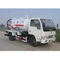 Cheap Vaccum Waste Collection Truck XZJ5120GXW for irrigation, drainage and suction any kind of noncorrosive mucus liquid for sale
