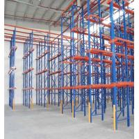 Cheap Steel Pallet Standard Safety Drive In Drive Through Racking System Corrosion Protection for sale