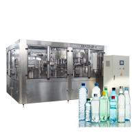 Buy cheap 10000BPH Washing Filling And Capping Machine Small Scale Bottle Liquid Water from wholesalers