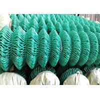 Cheap PVC Coated Galvanized Diamond Mesh Fence Used As Basketball Court Fence for sale