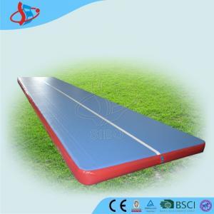 Cheap Airtight Inflatable Air Track For Tumbling / Safe Inflatable Air Track for sale