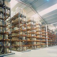 Cheap Steel Selective Pallet Racking Systems / Warehouse Pallet Racks Customized Color for sale