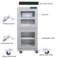 Quality 4 Casters Ultra Low Humidity Dry Cabinet / Electronic Humidity Control Cabinet wholesale