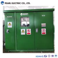Cheap Green color substation transformer with compact size for sale