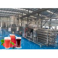 Cheap Fully Automatic NFC Fruit Juice Processing Machines One Year Warranty for sale