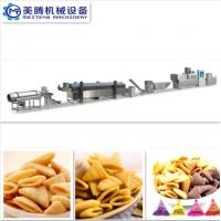 Cheap Automatic Extruded Fried Snack Food wheat Flour Bugles Chips Making Machine Production Line for sale