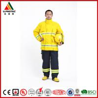 Cheap Washing Flame Retardant Clothing Firefighter Turnout Gear with Nomex IIIA Material for sale
