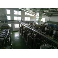 Cheap Bottled Package Beverages Pasteurized Milk Processing Line , Milk Processing Machine for sale