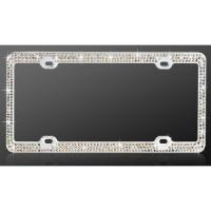 Cheap maui metal custom Chrome auto license plate frame with parking sensor for sale