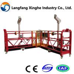 Cheap special steel structure platform/ access suspended platform/ powered suspended platform for sale