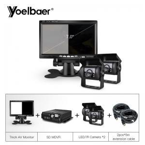 Cheap School Bus Trucks Mobile Dvr Camera Systems Anti Vibration Multi Code Stream for sale