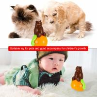 Cheap Christmas gift tumbler cat toy funny tumbler pet cat dog toy sunds Light for sale
