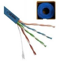 Cheap UTP CAT5E Network Cable 24 AWG 4 Pairs Solid Bare Copper for Gigabit Ethernet for sale