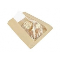 Cheap Gravure Printing Biodegradable French Fries Paper Bag for sale
