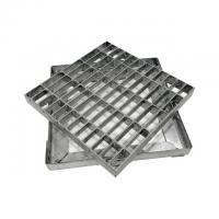 Cheap OEM Press Lock Grating , Flooring Steel Grates For Driveways for sale