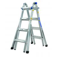 Cheap Twin Step Aluminium Alloy Ladder 2 Scaffold Bases EN131 Certificated for sale