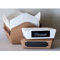 Cheap Greaseproof Fast Food Paper Bags for sale