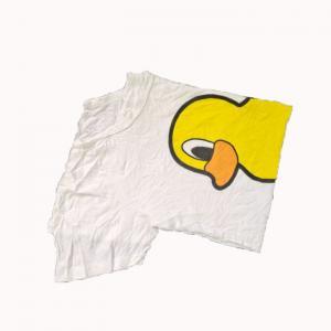 Cheap 1kg/Bale White T Shirt Rags for sale