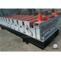 China Color Metal Profile Roofing Sheet Metal Roofing Machine With 3 Groups Rollers on sale
