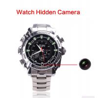 Cheap Wholesales High Quality Smart Wrist IR Night Vision HD 1080P Audio Video Recorder Spy Hidden Camera Watch Made In China for sale