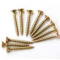 Quality Sus304 Sus316 Spax Solid Wood Flooring Screws For Plywood Subfloor Yellow White wholesale