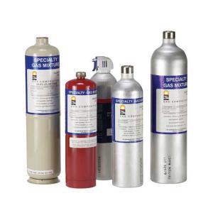 50 - 2000PPM SO2 Calibration Gas For Enviromental Monitoring Balance Gas N2