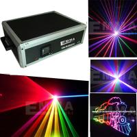 Cheap 3000mW 3W RGB FULL COLOR ILDA ANIMATIC stage laser light for DJ Disco and Bar for sale