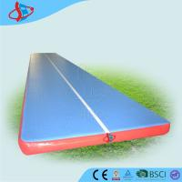 Cheap 13.5 M Trampoline Gymnastics Air Mat For Tumbling Eco - Friendly CE / UL for sale
