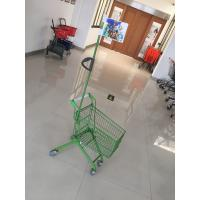 Buy cheap Carbon Steel Play Kids Shopping Carts Flag Logo Pole 465 X 330 X 686mm For from wholesalers