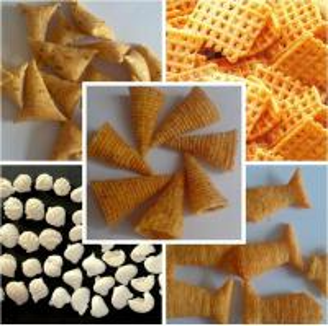 Cheap Snacks/ flour fried salad sticks/ chips/ bugles processing line for sale
