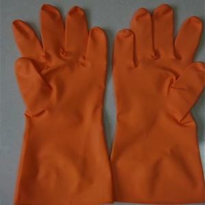 Cheap Orange latex Gloves/Home Use Orange Gloves/Orange Rubber Gloves for sale