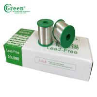 Cheap Super Lead Solder Tin Wire 0.3mm~2.0mm Pb50 / Sn50 With Melting Point 183℃ for sale