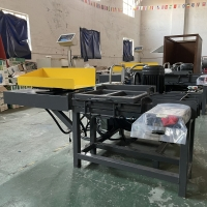Cheap PLC Control Horizontal Hydraulic Cotton Bale Press Machine 5.5KW for sale
