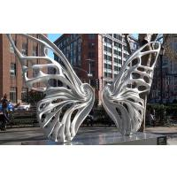 Cheap Large Public Art Outdoor Metal Butterfly Sculpture for urban landscape for sale