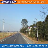 Cheap Quality Guaranteed All in One Integrated Solar LED Street Light for sale
