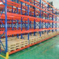 Cheap Durable Steel Heavy Duty Pallet Racks Warehouse Storage Shelving Powder Coating Surface for sale
