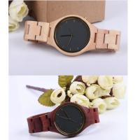 Cheap Fashion Charming Bewell Mens Wooden Watch 100% Natural Wood With Miyota 2035 for sale