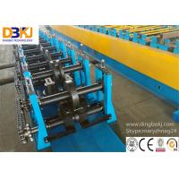 Rack Beam C Channel Roll Forming Machine 8-12m / Min Metal Forming Equipment Manufactures