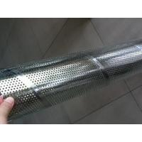 Cheap Galvanized Steel Spiral Perforated Tube , Perforated Muffler Tubing ASTM GB DIN for sale