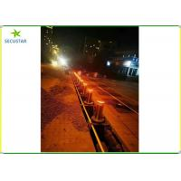 Cheap Traffic Collapsible Automatic Rising Bollards , Drop Down Bollards Easily Assembled for sale