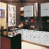 Quality European Style Acrylic Coated MDF Kitchen Cabinet wholesale