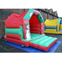 Cheap Ultimate Festive Inflatable Bouncer / Small Toddler Moonwalk Inflatable Bounce House for sale