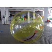 Cheap Safe 0.8mm Pvc Rolling Inflatable Balls Transparent Inflatable Aqua Ball for sale
