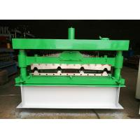 Cheap Automatic Wall Panel Roll Forming Machine , 1040 Type Plate Rolling Machine 0.2-0.6mm Thick for sale