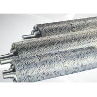 Cheap PP ABS Embossing Roller Surface Hardness HRC55~58 , PVC Mirror Roller for sale
