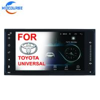Cheap 2 Din Car Stereo Multimedia Player System Car Media Player Bluetooth For Toyata for sale