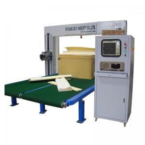 China 4 Kw Power Mattress Cnc Foam Cutting Machine / Cutting Sponge Machine on sale