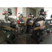 1270mm Automatic Table Turret Milling Machine With Three Axis Dovetail Way 3VA